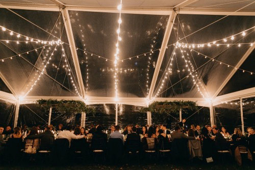 Bistro & String Lighting - Event Lighting Concepts